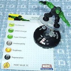 Heroclix Avengers 009 Hulking Hulk