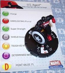 Heroclix Avengers 015 US Agent