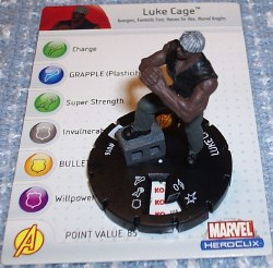Heroclix Avengers 016 Luke Cage