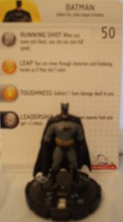 Heroclix Batman Alpha 001 Batman