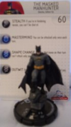 Heroclix Batman Alpha 003 Batman (Masked Manhunter)