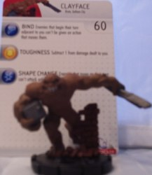 Heroclix Batman Alpha 009 Clayface