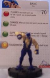 Heroclix Batman Alpha 012 Bane