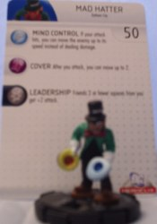 Heroclix Batman Alpha 013 Mad Hatter