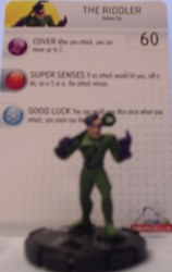 Heroclix Batman Alpha 016 The Riddler