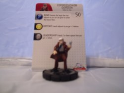 Heroclix Batman Alpha 020 Commissioner Gordon