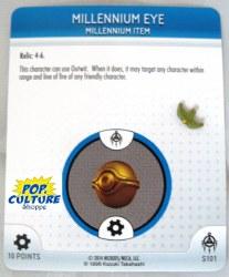 Heroclix Yu-Gi-Oh!: BotM S101 Millennium Eye
