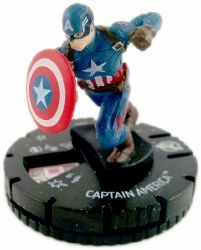 Heroclix Captain America Civil War Movie 001 Captain America