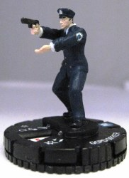 Heroclix Dark Knight Rises 005 GCPD Officer