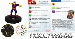 Heroclix Galactic Guardians 013 Hollywood