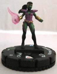 Heroclix Galactic Guardians 017 Lyja the Lazerfist
