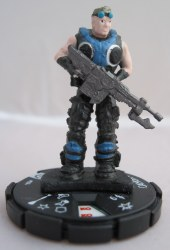 Heroclix Gears of War 004 Damon Baird