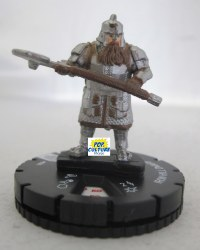 Heroclix Hobbit Battle of the Five Armies 006 Iron Hill Dwar