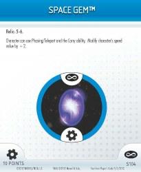 Heroclix Infinity Gauntlet S104 Space Gem