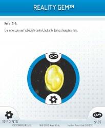 Heroclix Infinity Gauntlet S105 Reality Gem
