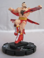 Heroclix Street Fighter 005 Zangief