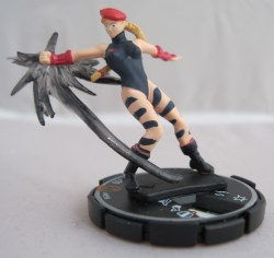 Heroclix Street Fighter 009b Cammy