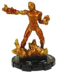 Heroclix Secret Invasion 017 Human Torch