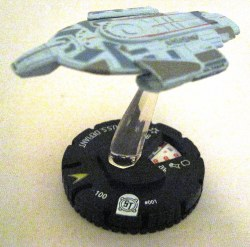 Heroclix Star Trek Tactics I 001 USS Defiant