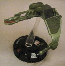Heroclix Star Trek Tactics I 005 IKS Ch'Tang