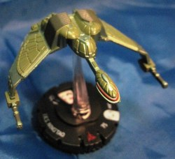 Heroclix Star Trek Tactics II 002 IKS Ning'Tao