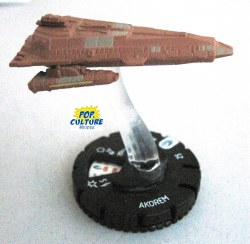Heroclix Star Trek Tactics III 008 Akorem