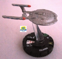 Heroclix Star Trek Tactics III 017 Columbia