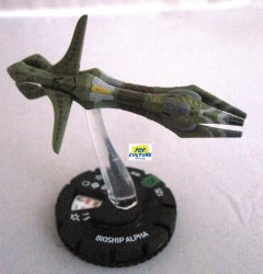Heroclix Star Trek Tactics III 018 Bioship Alpha