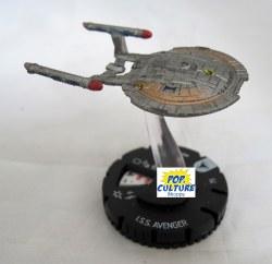 Heroclix Star Trek Tactics IV 009 ISS Avenger