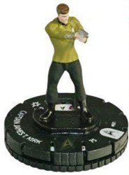 Heroclix Star Trek Tactics Away Team 001 Captain J.T. Kirk