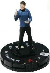 Heroclix Star Trek Tactics Away Team 002 Dr. Leonard McCoy