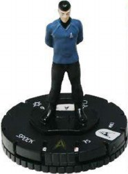Heroclix Star Trek Tactics Away Team 003 Spock