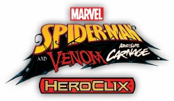 Heroclix Spider-Man Venom and Absolute Carnage CURSR Prime Chase Set