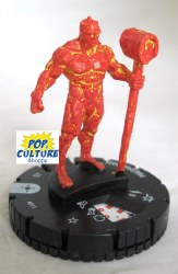 Heroclix Secret Wars: Battleworld 011 Magma Man