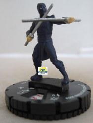 Heroclix TMNT2 009 Foot Ninja (Twin Katanas)