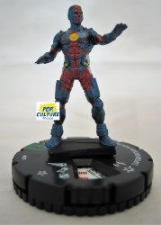 Heroclix What If... 019 Captain Britain Iron Man