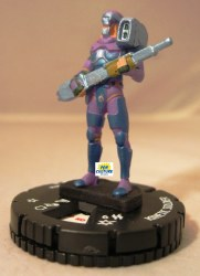 Heroclix Yu-Gi-Oh! Series 1 010 Kinetic Soldier