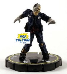 Horrorclix Base Set 010 Zombie Cop
