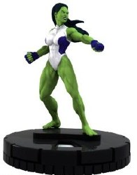 Heroclix The Incredible Hulk 007 She-Hulk