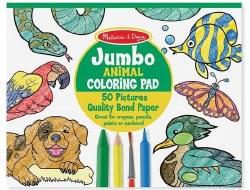 Jumbo Animal Coloring Pad