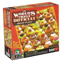 Killer Cupcakes Jigsaw Puzzle