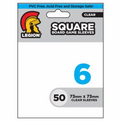 Legion Square Board Game Sleeves: 73mm x 73mm