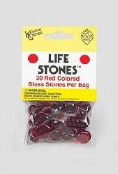 Life Stones - Red