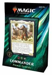 Magic the Gathering Commander 2019 Primal Genesis Deck