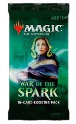 Magic the Gathering War of the Spark Booster Pack