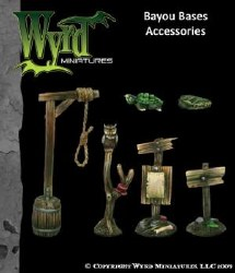 Malifaux: Bayou Bases Accessories