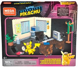 Mega Construx: Pokemon Detective Pikachu Office