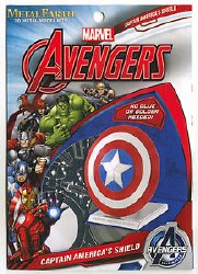 Metal Earth Avengers Captain America Shield