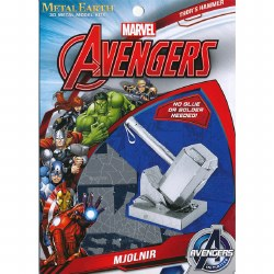 Metal Earth Avengers Mjolnir