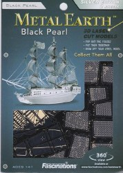 Metal Earth Black Pearl
